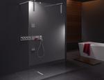 Kabina prysznicowa Walk-in-Shower XS KERMI - zdjęcie 2