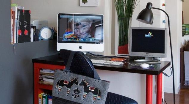 Kącik do pracy – kreatywność i umiar