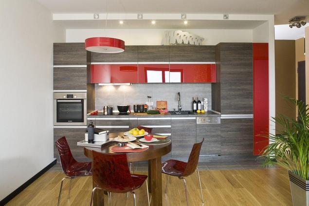Zobacz galerię zdjęć Kuchnia na wymiar Nowoczesna kuchnia w męskim stylu  S   -> Nowoczesna Kuchnia Najnowsze Trendy W Projektowaniu