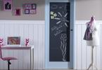 Charakterystyczne drzwi wewnętrzne do pokoju dziecięcego