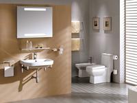 Nowoczesna łazienka jest wyposażona w atrakcyjne akcesoria łazienkowe