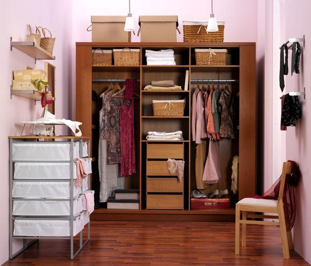 Szafa w garderobie - aranżacje