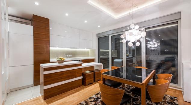Biała kuchnia na wysoki połysk Drewno w kuchni -> Kuchnia Biala Na Wysoki Polysk Opinie