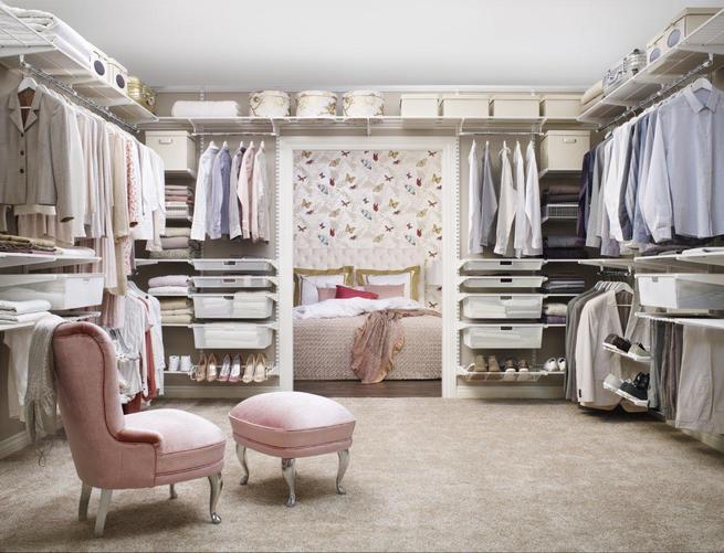 Garderoba w angielskim stylu
