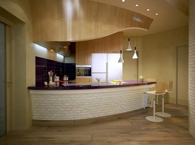 Zobacz Galerię Zdjęć Kuchnia Z Barkiem Oryginalny Projekt