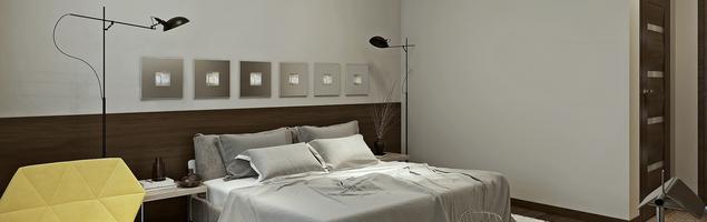 Projekt sypialni - styl nowoczesny i minimalizm