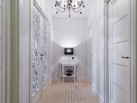 Mieszkanie w stylu glamour - aranżacja przedpokoju