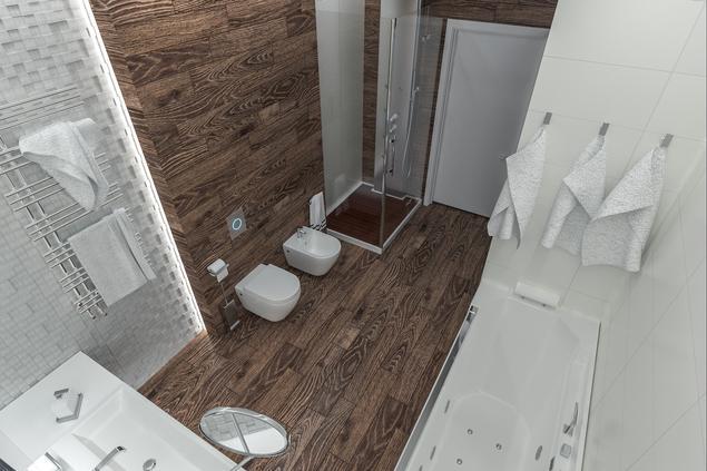 zobacz galeri zdj funkcjonalna aran acja azienki pomys na bia azienk stronywn. Black Bedroom Furniture Sets. Home Design Ideas