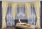 Efektowne dekoracje okien pomysłem na aranżację salonu