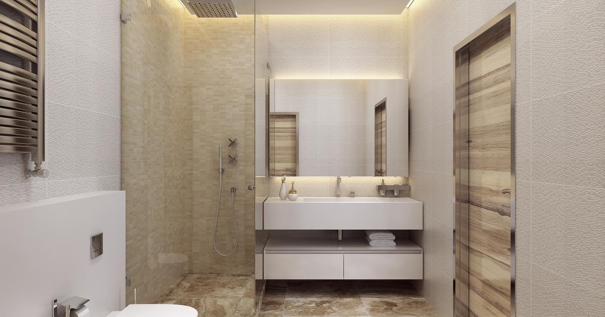 Nowoczesna łazienka - elegancki wystrój wnętrza